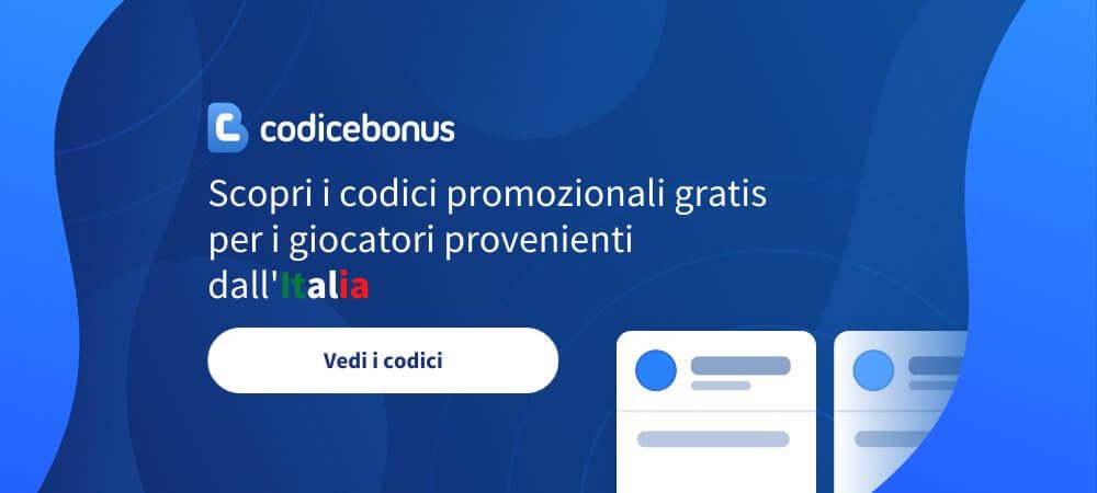 Codice Bonus Italia