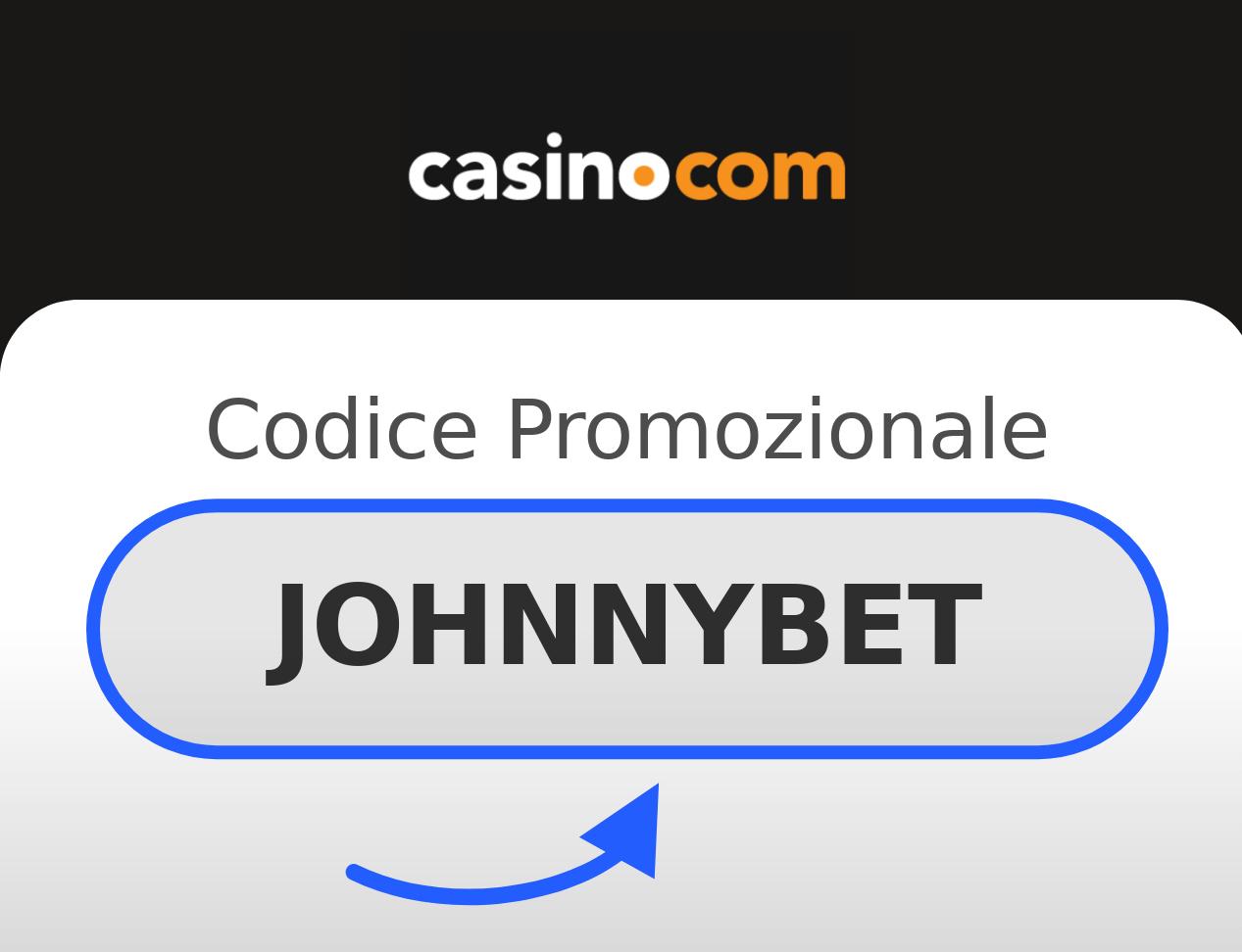 Codice Promozionale Casino.com