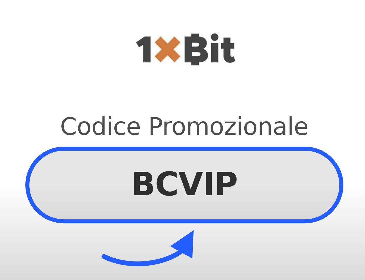 Codice Promozionale 1xBIT