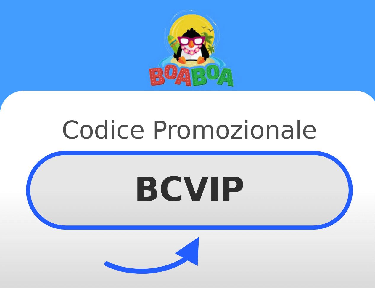 Codice promozionale BoaBoa Casino