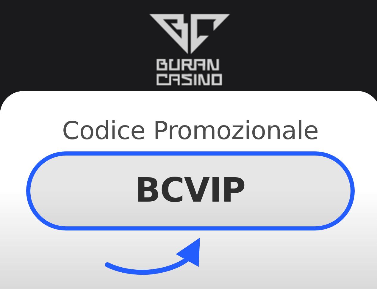 Codice promozionale Buran Casino