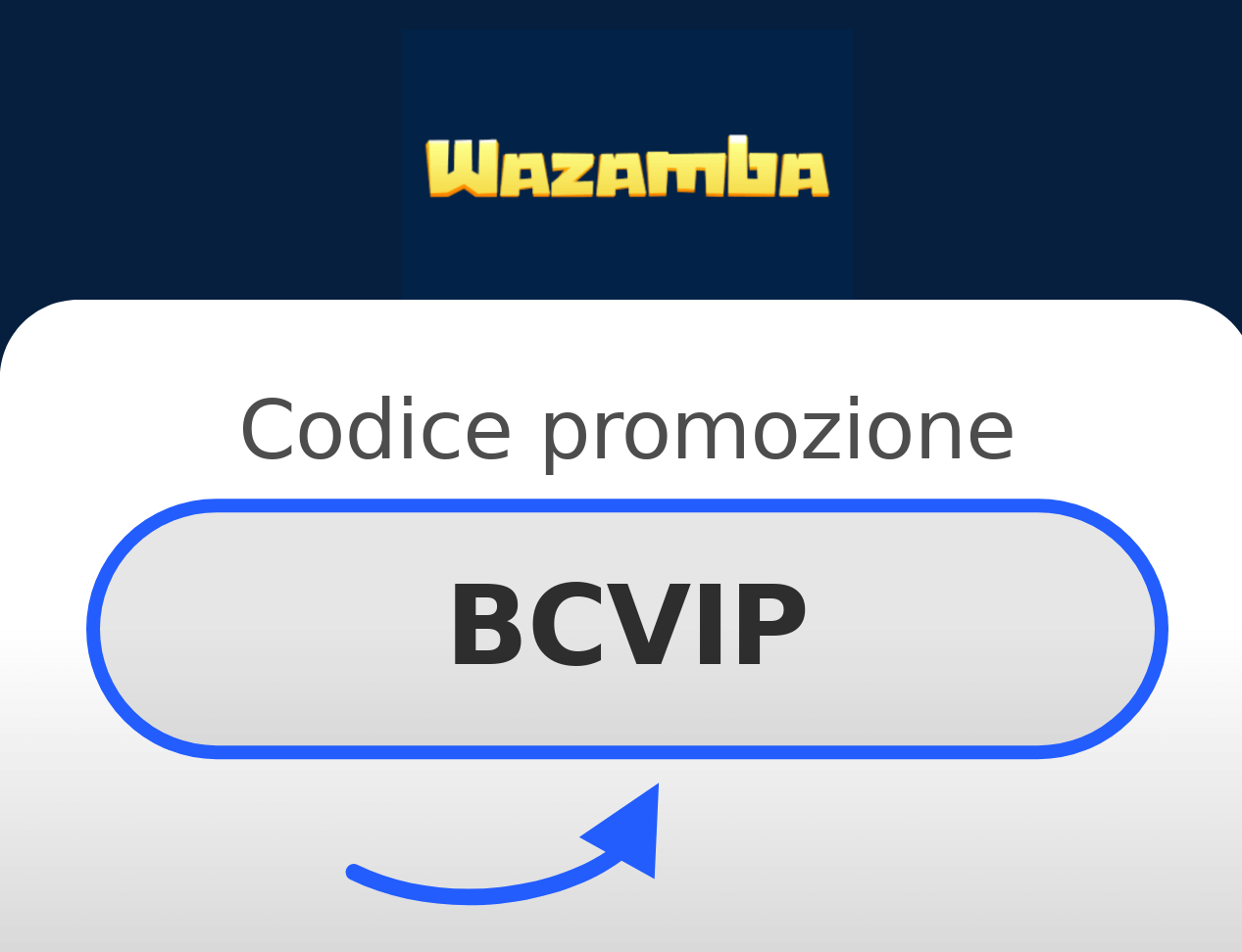 Codice Promozionale Wazamba